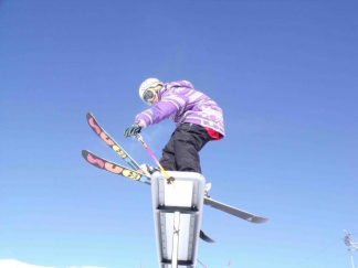 J'apprends à skier - Février / Isère